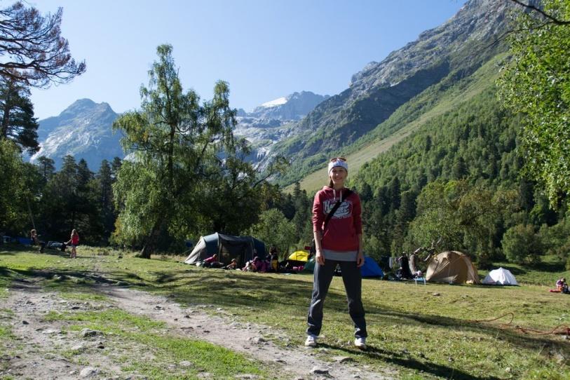 первый раз в горах София
