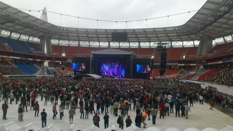 Первый раз на концерте DEPECHE MODE. 22 июня 2013 года на стадионе «Локомотив» в Москве